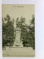 AK Valenciennes, Denkmal Watteau; Etappen-Inspektion 2 Gräber-Verwaltung; Feldpost 1917 - Ohne Zuordnung