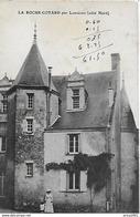 Langeais, Le Coté Nord Du Chateau De La Roche Cotard. - Langeais
