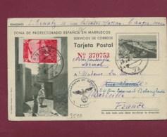 170320 - GUERRE 39/45  ESPAGNE MAROC - Entier Zona De Protectorado Espanol En Marruecos Pour La France Censur Allemande - Spain