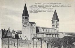TOURNUS : EGLISE SAINT PHILIBERT - France