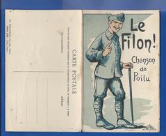 Le FILON!  Chanson De Poilu - Weltkrieg 1914-18