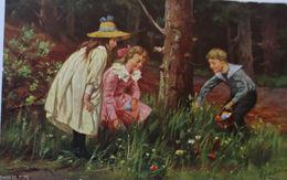 """""""Ostern, Kinder"""" 1904  Schöne Karte ♥ (1397) - Pasen"""