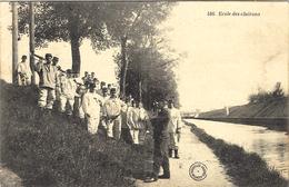 1917 - Groupe De Soldats  - 586- Ecole De Clairons - Ed.  Nouvelles Galeries - BOURGES - - War 1914-18