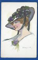 Jeune Femme Chapeau    Edition Aux Alliés  N°26 - Fashion