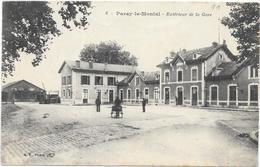 PARAY LE MONIAL : EXTERIEUR DE LA GARE - Paray Le Monial