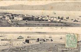 Souvenir De CRETE -  Port De La Sude - Ed. N. Douras ,La Canée - Grecia