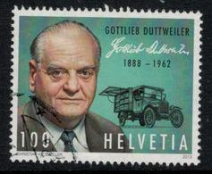 Suisse // Schweiz // Switzerland //  2013 // Gottlieb Duttweiler   No.1454 Oblitéré - Suisse
