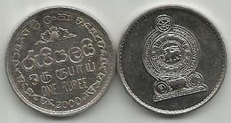 Sri Lanka 1 Rupee 2000. Magnetic KM#136a - Sri Lanka