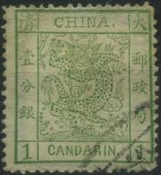 1878 Cina , 1 Candarin Usato , Buone Condizioni - Chine