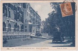 62. LE TOUQUET-PARIS-PLAGE. Hôtel Westminster. 120 - Le Touquet