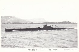 SOUS  MARIN   --  ACHERON - Submarinos