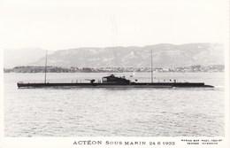SOUS  MARIN   --   ACTEON - Sous-marins