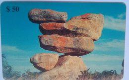 Zim$ $50   Rocks Exp 8/2000 - Zimbabwe