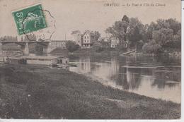 YVELINES - CHATOU - Le Pont Et L'Ile Du Chiard - Chatou