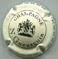CAPSULE-CHAMPAGNE GUEUSQUIN N. N°01 Crème & Noir - Champagne