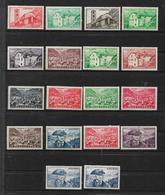 Andorre Timbres De 1948/51  N°120 A 137  Neuf ** Cote 144€ - Ungebraucht