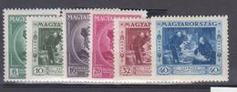 HONGRIE      1935           N°      473 / 478      COTE        12 € 00        ( 950 ) - Neufs