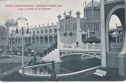 POSTAL DE BUENOS AIRES DEL PABELLON ESPAÑA DEL AÑO 1910 (ARGENTINA) (A. MAURI) - Argentina