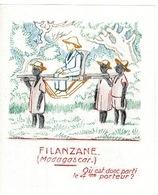 Chromo, étiquette -L' Image Magique, Filanzane( Madagascar) - Le Sirop Kid - PUB: Sauba (  France ) - Old Paper