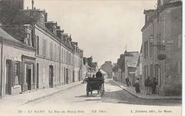 CARTE POSTALE   LE MANS 72  La Rue Du Bourg Belé - Le Mans