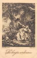 20-3633 : LA BERGERE ENDORMIE - Tableaux