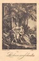 20-3634 : LES DEUX CONFIDENTES - Tableaux