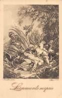 20-3636 : LES AMANTS SURPRIS. - Tableaux