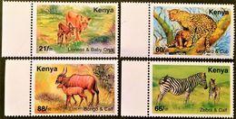 # Kenya 2004**769-72  Mammals , MNH [20;38] - Zonder Classificatie