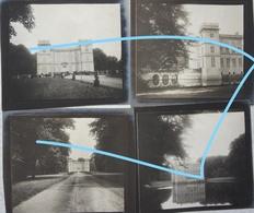 Photox8 HINGENE Kasteel D'URSEL Naast Borem Tamse Circa 1898 Château Ursel Castel - Places