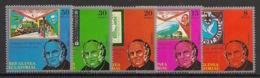 Guinée  équatoriale - 1979 - N°Mi. 1478 à 1482 - Sir Rowland Hill - Neuf Luxe ** / MNH / Postfrisch - Guinée Equatoriale