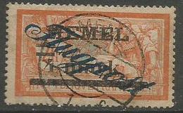 Memel (Klaipeda) - 1922 Merson Airmail Overprint 4m/4f Used   Mi 81 - Gebraucht