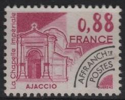PREO 107 - FRANCE Préoblitéré N° 170 Neuf** Sites Et Monuments Ajaccio - 1964-1988