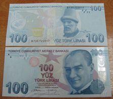 AC - TURKEY 9th EMISSION 100 TL B UNCIRCULATED - Türkei