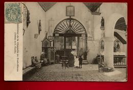CPA Précurseur 22 Penvénan Port Blanc Intérieur De La Chapelle Tableau Bouillé - CAD Guingamp 1-05-1904 Pour J. Thomas - Penvénan