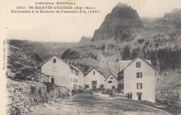 CPA - St Martin Vésubie - Excursion à La Madone De Fenestre ( Alt 1886 M ) - Saint-Martin-Vésubie