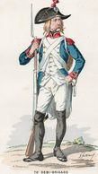 Gravure Couleur. Militaria. Infanterie. Grenadier 76e Brigade. 1794 - Uniformes