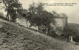 CHASTEAUX RUINES DU CHATEAU DE COUZAGE COTE LEVANT - France