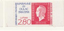 PIA  - FRA -  1994  : Giornata Del Francobollo - Cinquantenario Della Marianna Di Dulac  - (Yv  2864) - 1944-45 Marianne Van Dulac