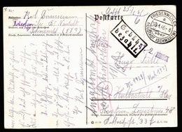 A6648) Franz Zone Karte Friedenweiler 09.01.46 Barfrankatur Inhalt - Französische Zone