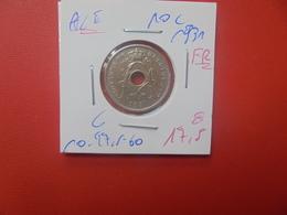Albert 1er. 10 Centimes 1931 FR MORIN N° 426 D (A.6) - 04. 10 Centimes