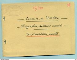 Trivières 'Livret Admin. Contenant 6 Photos Des Inondations 1920 - La Louviere
