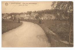 Watermael-Boitsfort Vue Panoramique Prise Du Parc Carte Postale Ancienne - Watermael-Boitsfort - Watermaal-Bosvoorde