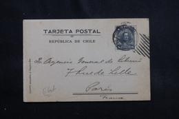 CHILI - Carte Commerciale De Santiago Pour La France En 1919 - L 56337 - Chili