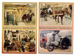 VRONCOURT (54) - Musée Agricole (2 Cartes) - Autres Communes