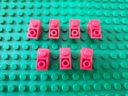 Lot Lego Rouge Incliné - Lego