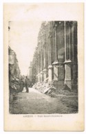 Amiens - Rue Saint-Germain - Animée - Dégâts De Guerre - Visé Paris N°3537 ? - Prud'homme - Vierge - Amiens