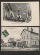Lot De 12 Cartes Postales Anciennes De France - - 5 - 99 Postcards