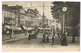 64 Amiens - Place René-Goblet - Square - Animée - Tramway - Vierge - Amiens