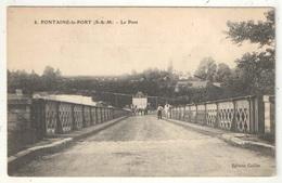 77 - FONTAINE-LE-PORT - Le Pont - Caillet 8 - Altri Comuni