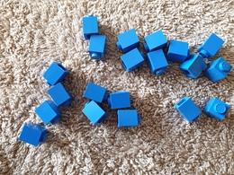 Lot Lego Bleu 1x1 - Lego